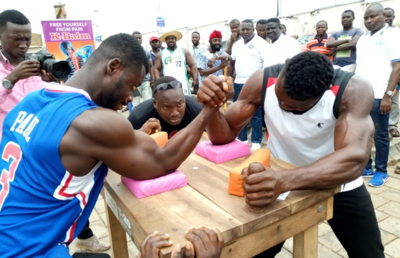 Northern sector armwrestling challenge