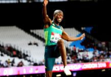South Africa's Luvo Manyonga