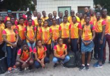 Team Ghana ready to depart