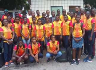 Team Ghana ready to depart