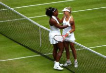 Serena Williams and Angelique Kerber meets at the Center Court