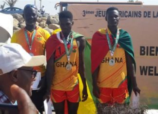 Ghana Beach Volleyball team
