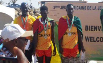 Ghana Beach Volleyball team