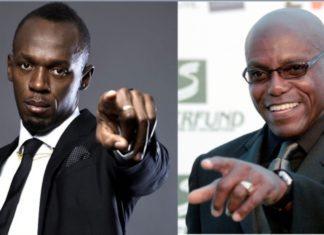 Usain Bolt and Carl Lewis
