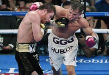 Gennady Golovkin (right) lost a majority decision to Canelo Alvarez Saturday