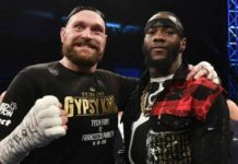 Tyson Fury [left] takes on Deontay Wilder [right] on December 1st