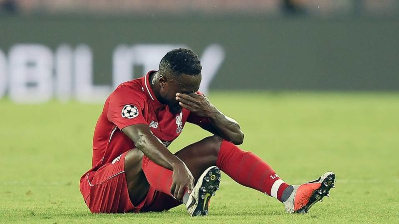 Naby Keita injured as Liverpool fall in Naples