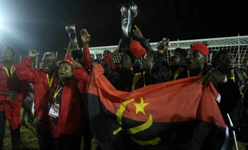 Angola, champions of 2018 Amputee World Cup