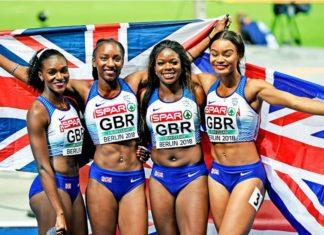 Britain [4x100m] relay team