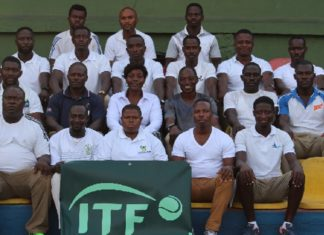 Members of Ghana Tennis Federation