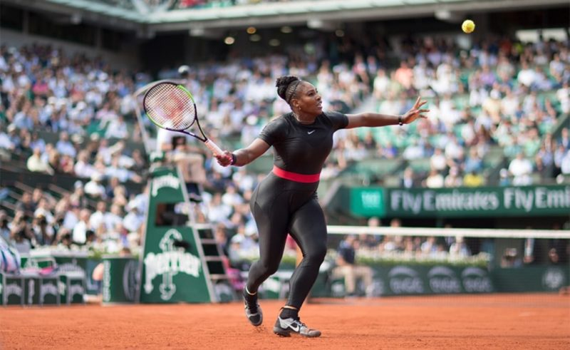 Power moves and power dressing at the French Open
