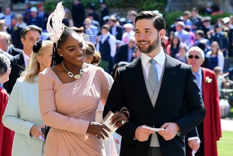 Williams with her husband, Reddit cofounder Alexis Ohanian