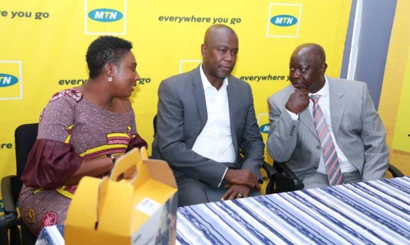From left: Mrs. Georgina Asare Fiagbenu, Mr. Samuel Koranteng, and Mr. Kwabena Yeboah
